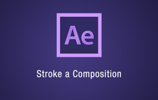 Stroke a composition