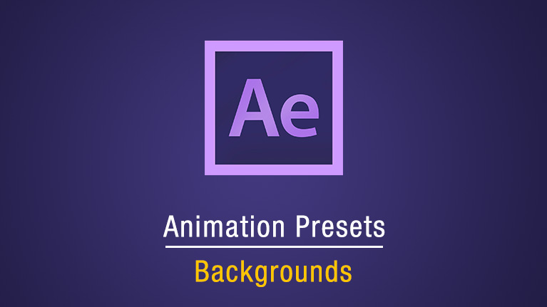 Animation Presets Background