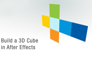 Build a 3d cube in after effects