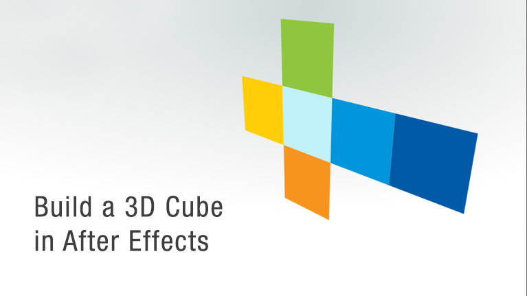 How to make a perfect cube in after effects for Habitacion 3d after effects