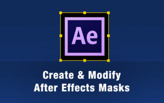 After Effects Mask