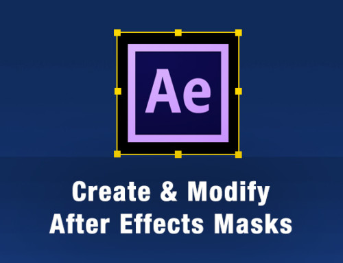 Learn how to mask and create shape layers in After Effects