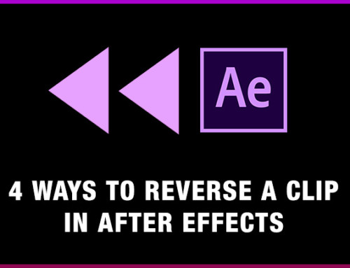 4 Ways to Reverse a video clip in After Effects