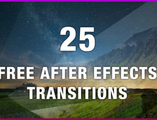 25 Free After Effects Transitions