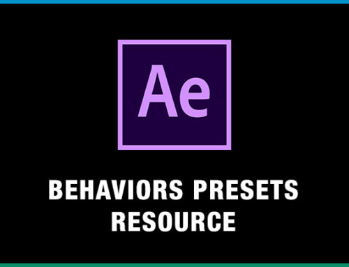 After Effects Behavior Presets Resource and Preview Gallery