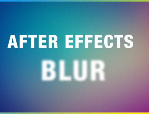 After Effects Blur Effects and Presets Overview