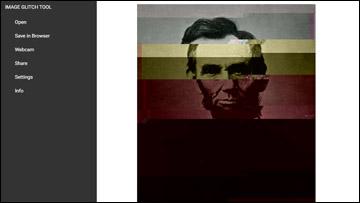 image glitch effect tool