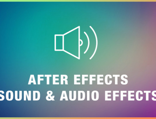 After Effects Sound & Audio Effects