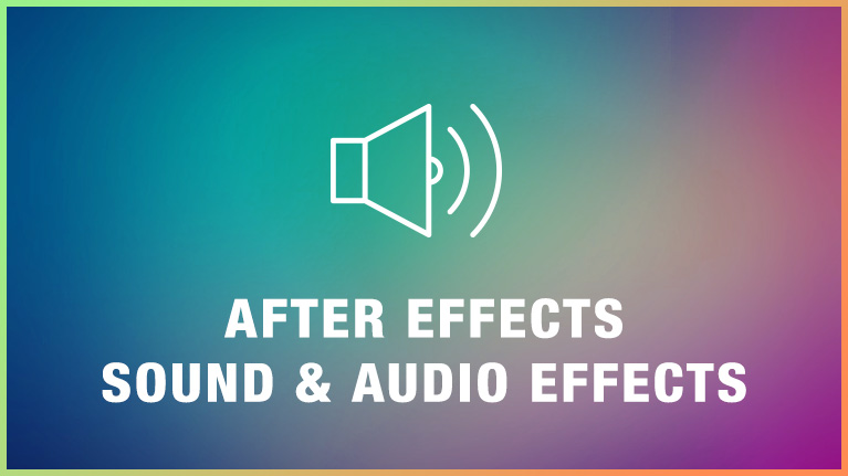 After Effects Sound Audio Effects Preview